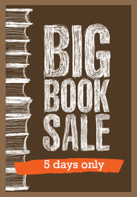 Big book sale - 5 days only