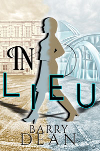 Book Cover - A female in silhouette striding across time