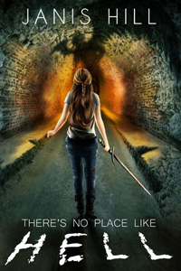 Book Cover - The Unforgotten showing Stephanie approaching the shadow of a fallen angel